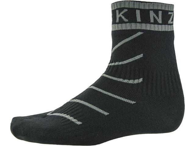 Sealskinz Super Thin Pro Calzini alla caviglia con Hydrostop, black/grey